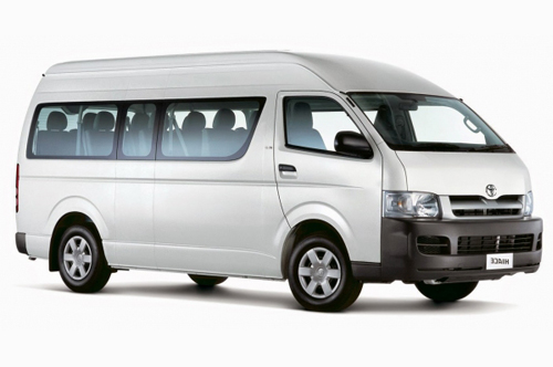 Volvo Coaches Mini Van
